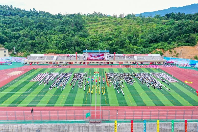 期待已久!学院第一届运动会开幕!